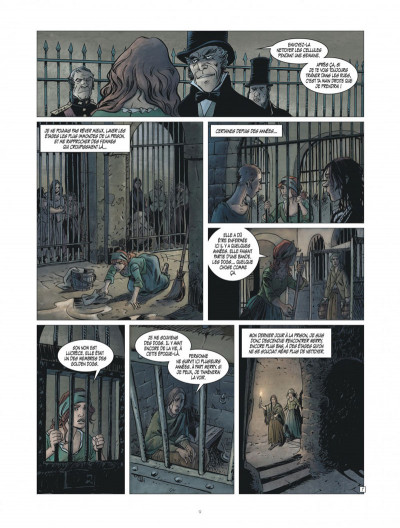 Page 9 golden dogs tome 3 - le juge Aaron