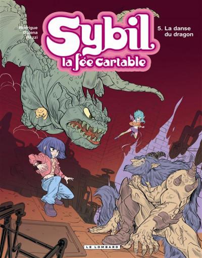 image de Sybil la fée cartable tome 5 - la danse du dragon