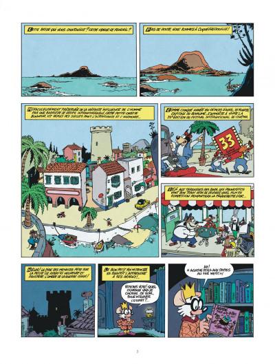 Page 3 une aventure de chlorophylle par godi et zidrou tome 1 - embrouilles à coquefredouille