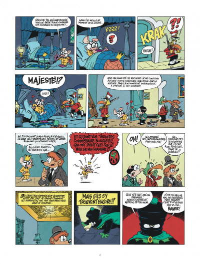 Page 4 une aventure de chlorophylle par godi et zidrou tome 1 - embrouilles à coquefredouille