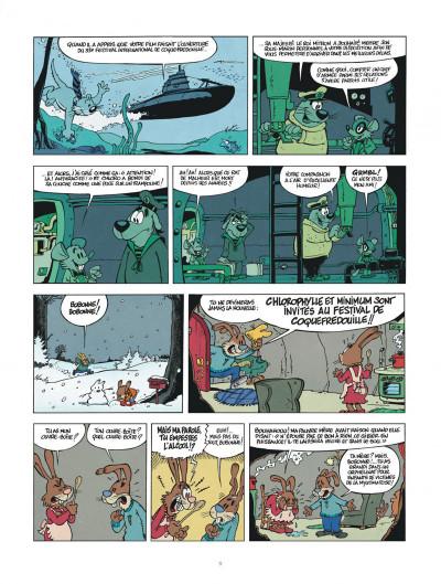 Page 9 une aventure de chlorophylle par godi et zidrou tome 1 - embrouilles à coquefredouille