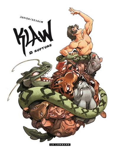 Couverture Klaw tome 4