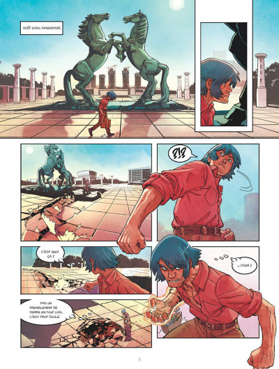 Page 3 Klaw tome 4