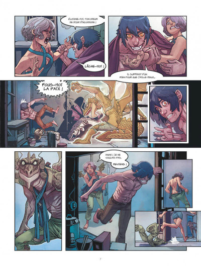 Page 7 Klaw tome 4