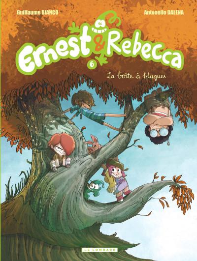Couverture Ernest et Rebecca tome 6