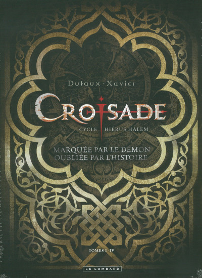 Couverture croisade - tome 1 à tome 4 - coffret