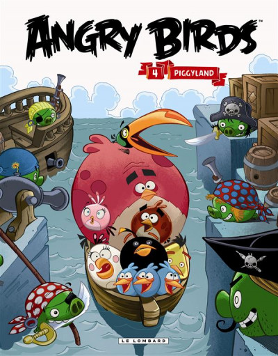 Couverture Angry Birds tome 4 - Piggyland