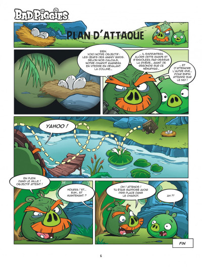 Page 6 Angry Birds tome 4 - Piggyland