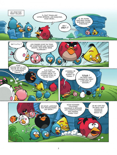 Page 7 Angry Birds tome 4 - Piggyland