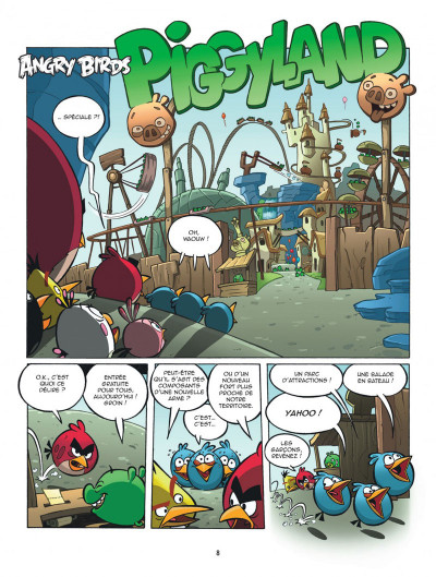 Page 8 Angry Birds tome 4 - Piggyland