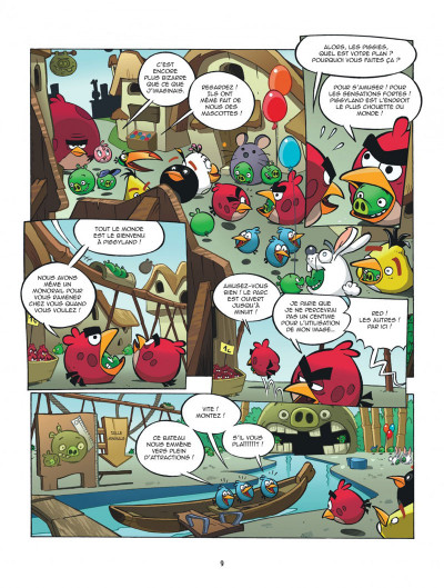 Page 9 Angry Birds tome 4 - Piggyland