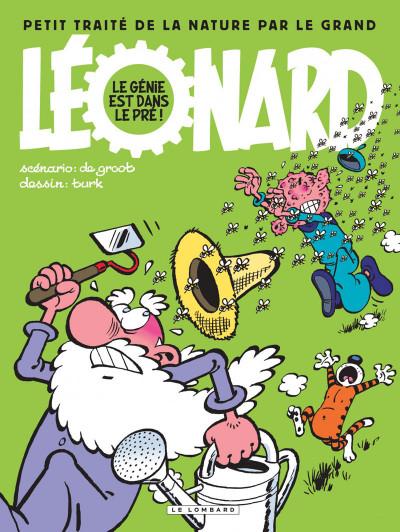 Couverture Léonard intégrale tome 3 - Le génie est dans le pré !