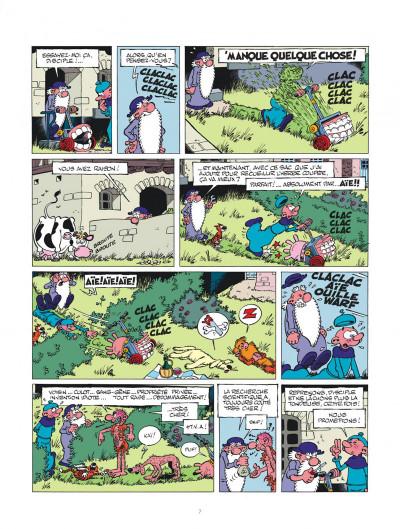 Page 7 Léonard intégrale tome 3 - Le génie est dans le pré !
