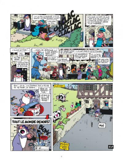 Page 8 Léonard intégrale tome 3 - Le génie est dans le pré !