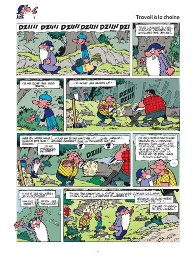 Page 9 Léonard intégrale tome 3 - Le génie est dans le pré !