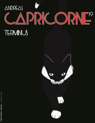 Couverture Capricorne tome 19