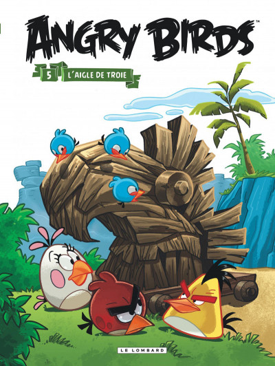 Couverture Angry Birds tome 5