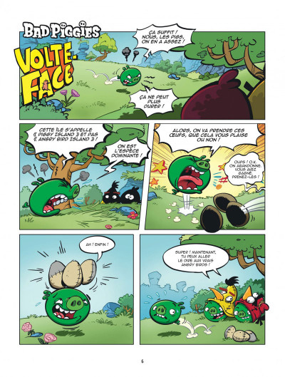 Page 6 Angry Birds tome 5