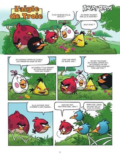 Page 7 Angry Birds tome 5