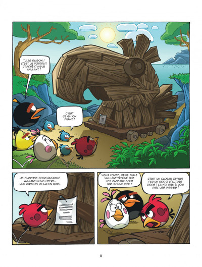 Page 8 Angry Birds tome 5