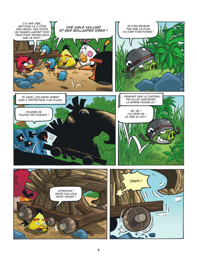 Page 9 Angry Birds tome 5