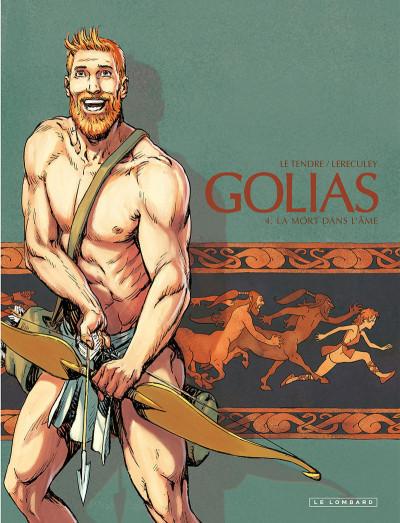 Couverture Golias tome 4