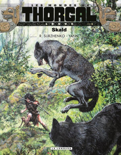 Couverture Les mondes de Thorgal - Louve tome 5