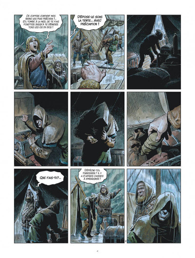 Page 4 Les mondes de Thorgal - Louve tome 5