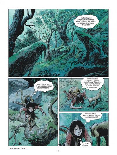 Page 5 Les mondes de Thorgal - Louve tome 5