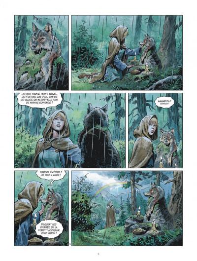 Page 6 Les mondes de Thorgal - Louve tome 5