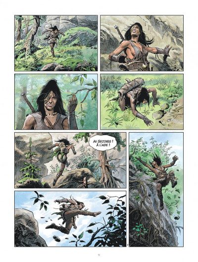 Page 9 Les mondes de Thorgal - Louve tome 5