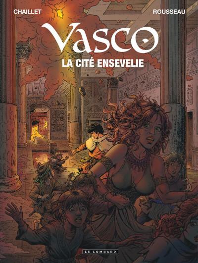 image de Vasco tome 26 - la cité ensevelie