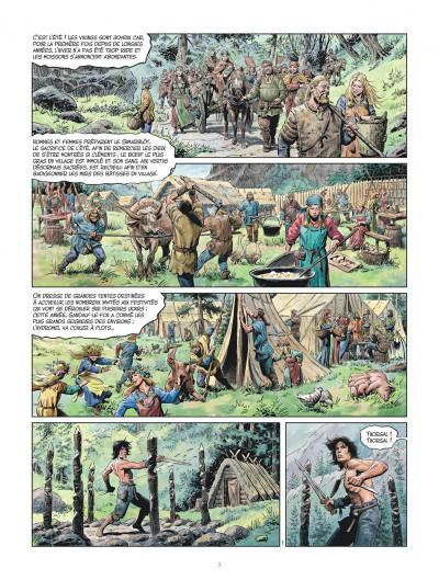 Page 2 Les mondes de Thorgal - la jeunesse de Thorgal tome 3