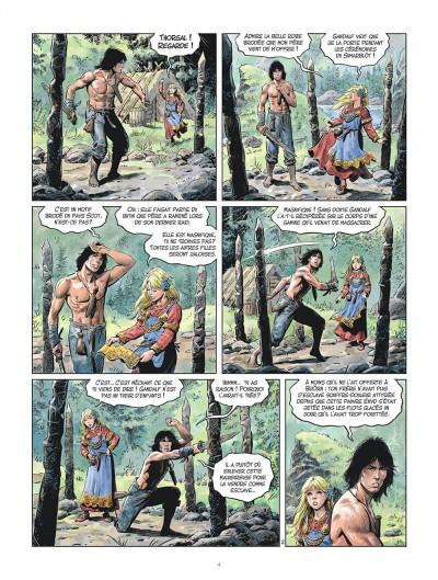 Page 4 Les mondes de Thorgal - la jeunesse de Thorgal tome 3