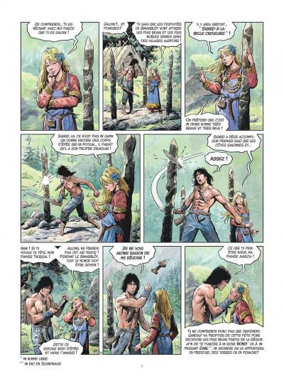 Page 5 Les mondes de Thorgal - la jeunesse de Thorgal tome 3