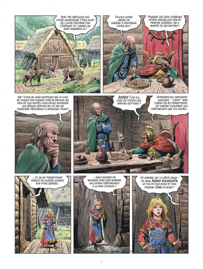 Page 7 Les mondes de Thorgal - la jeunesse de Thorgal tome 3