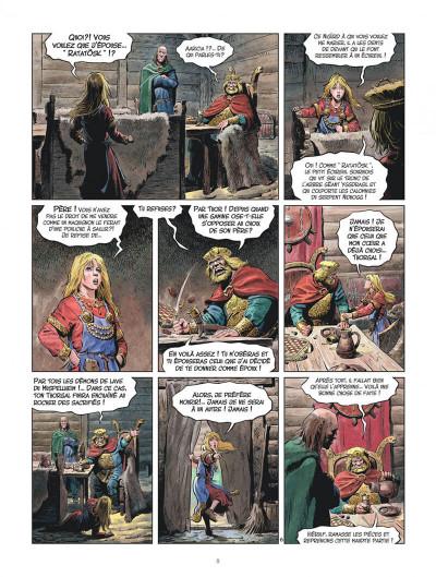 Page 8 Les mondes de Thorgal - la jeunesse de Thorgal tome 3