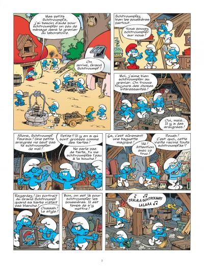 Page 3 Les Schtroumpfs tome 33 - le héros
