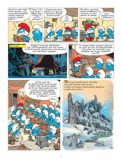 Page 5 Les Schtroumpfs tome 33 - le héros