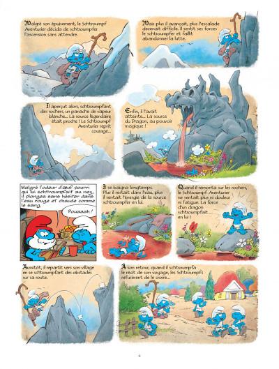 Page 6 Les Schtroumpfs tome 33 - le héros