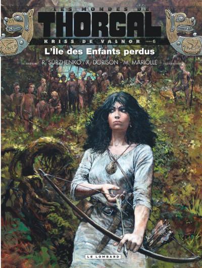 Couverture Les mondes de Thorgal - Kriss de Valnor tome 6