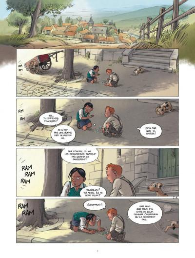 Page 2 Les enfants de la résistance tome 1