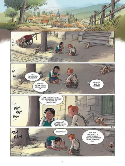 Page 3 Les enfants de la résistance tome 1