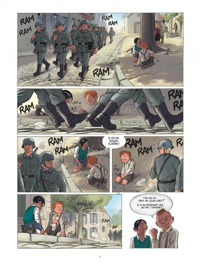 Page 4 Les enfants de la résistance tome 1