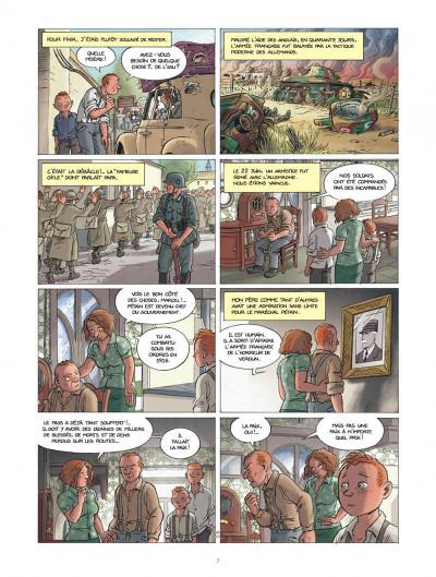 Page 7 Les enfants de la résistance tome 1