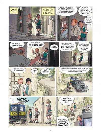 Page 8 Les enfants de la résistance tome 1