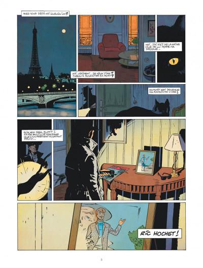 Page 3 Les nouvelles enquêtes de Ric Hochet tome 1 - Rip Ric