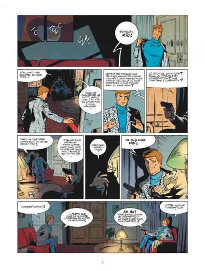 Page 6 Les nouvelles enquêtes de Ric Hochet tome 1 - Rip Ric