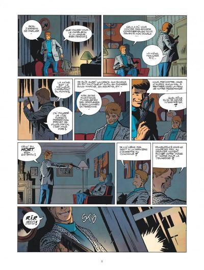 Page 8 Les nouvelles enquêtes de Ric Hochet tome 1 - Rip Ric
