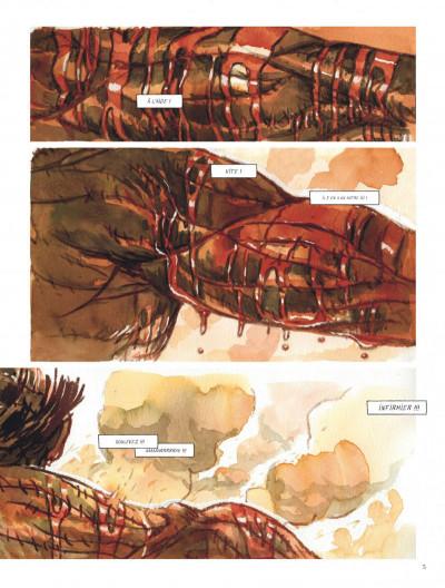 Page 5 Le chant du cygne tome 2